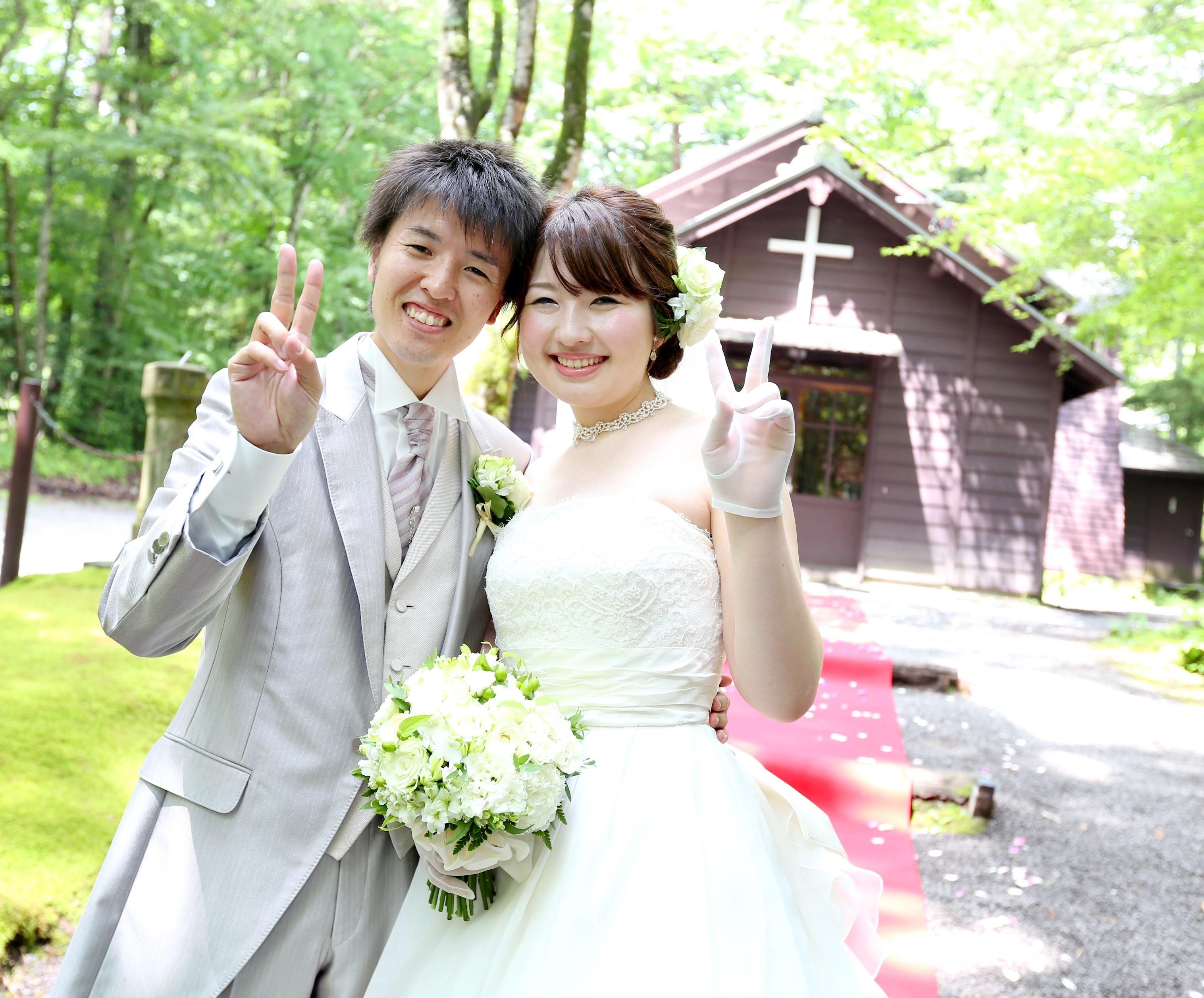 軽井沢最古の歴史ある教会で結婚式 「軽井沢ウエディング 公開挙式」 開催