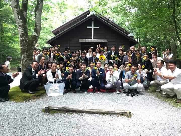 2018.8.21. 第10回公開挙式(軽井沢ウエディング協会)