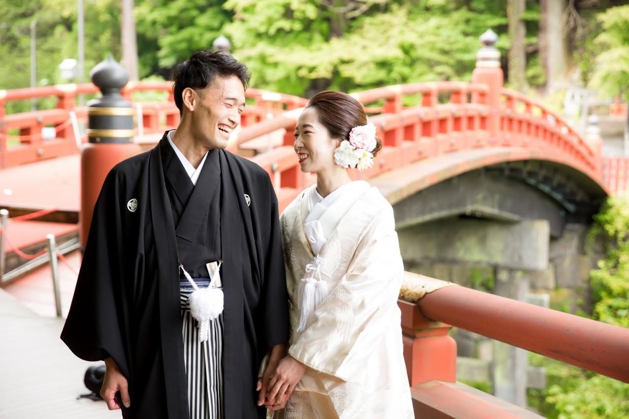 10/3和装結婚式のプレゼントをしました♪トチギ結婚式協議会